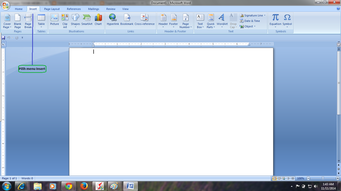 teknik mesin s ilmu komputer cara membuat cover page pilih menu cover page yang terletak di kiri atas tampilan ms word dan akan muncul pilihan cover page sesuai keinginan kita