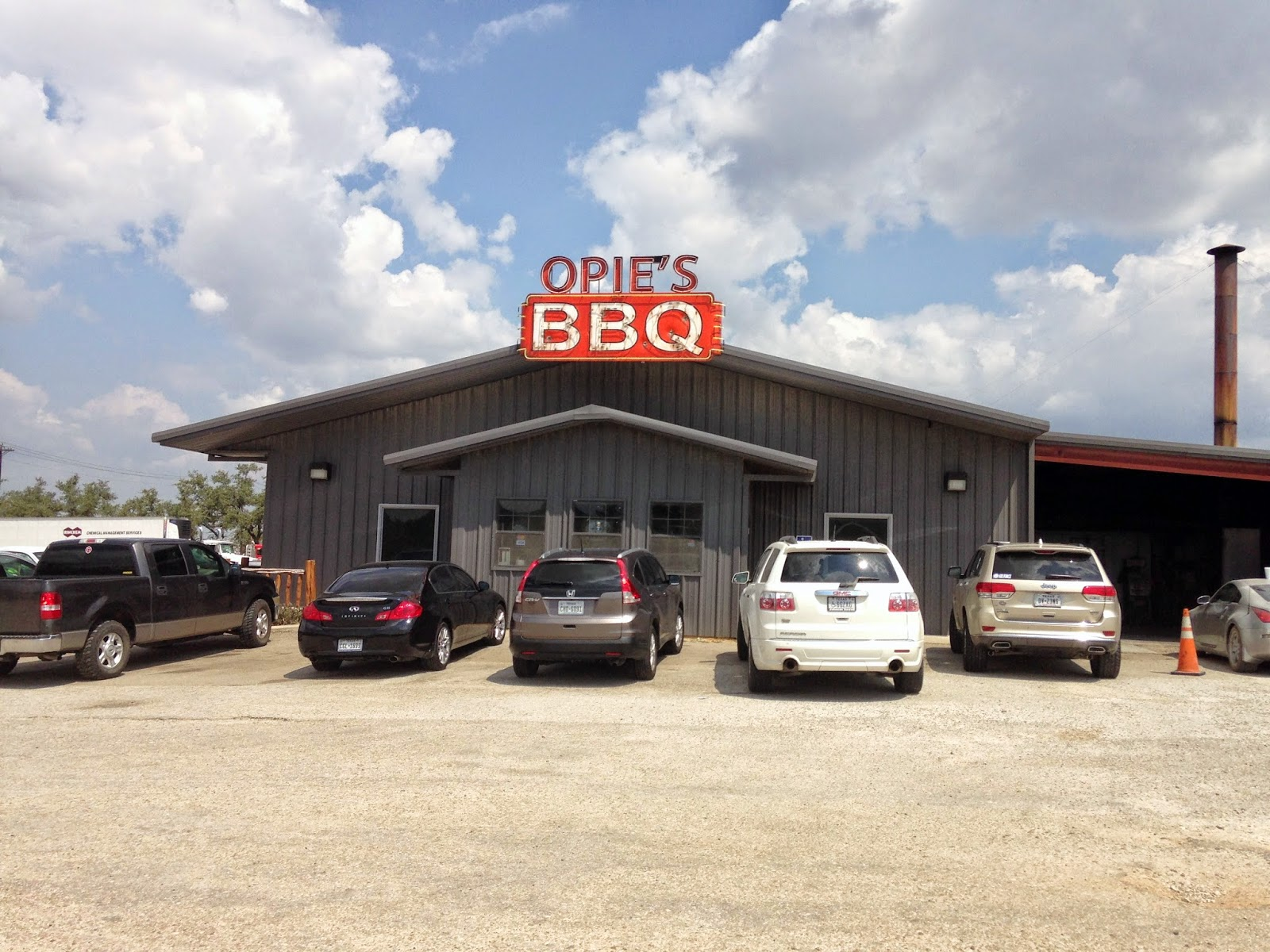 Opie's BBQ in Spicewood, Texas