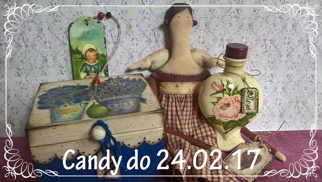Candy rocznicowe u Moniki