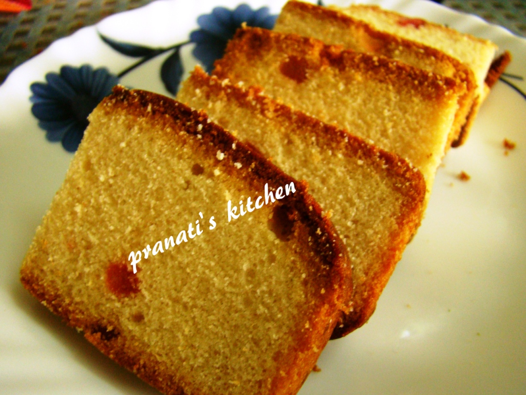 Delicious Recipes 4m Pranati s Kitchen: Eggless fruit cake: