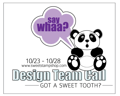 Sweet Stamp Shop - Design Team Call