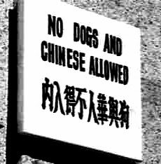No Chinese Allowed
