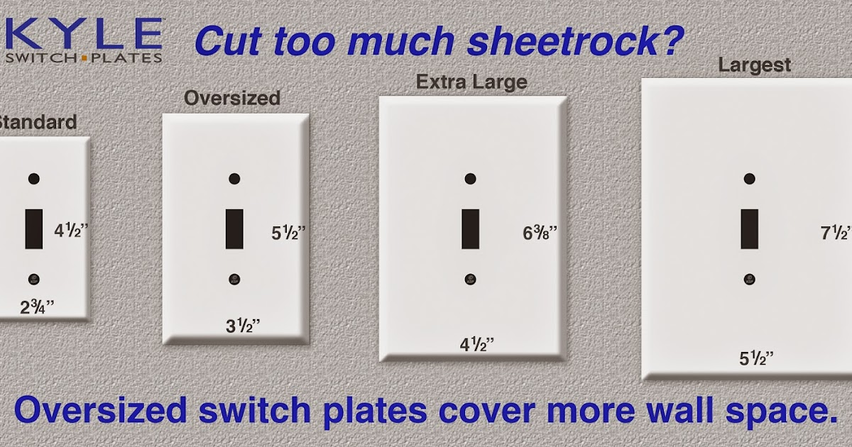 oversized-switch-plates-cover-mistakes  Wall Outlets And Switch Wiring Diagram on advanced light, for double, for combination,