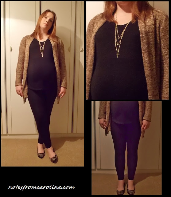 going out pregnancy outfit