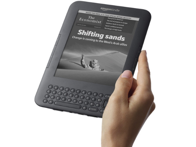 Kindle Keyboard 3G Free 3G  WiFi 3G Works Globally 6&quot E Ink