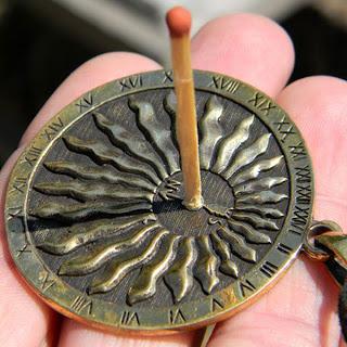 купить кулон подвеску солнце часы бронза украина