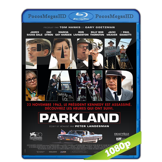 Parkland (2013) BrRip 1080p Audio Ingles 5.1 Subtitulada (peliculas hd )