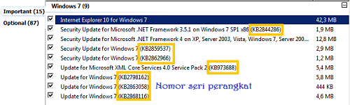 Cara Update Windows 7 Step 3