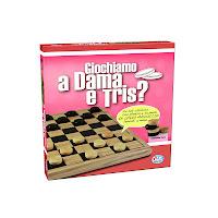 Giochiamo a Dama e Tris?La Dama di Editrice Giochi