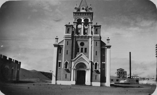 Iglesia del Pino. Año 1925. Imagen nº 2688 propiedad del archivo de fotografía histórica de la FEDAC/CABILDO DE GRAN CANARIA.