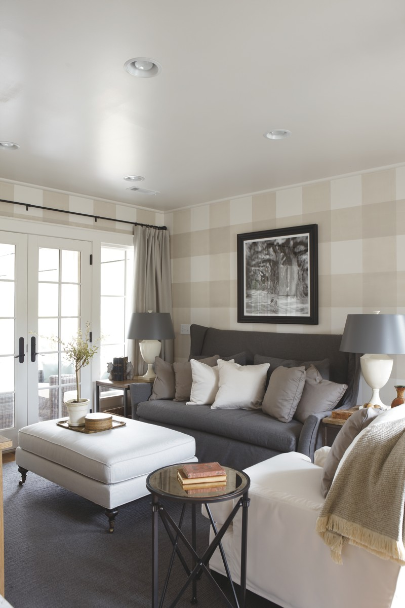Southern living idea house 2012 emily ann interiors - Wall paintings designs living room ...