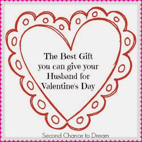 ... The Best Gift you can Give Your Husband for Valentine's Day #marriage