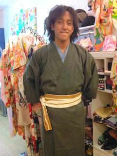 Men's Kimono robe from Kimono House NY