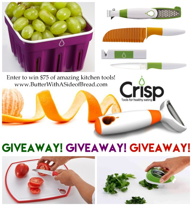 Crisp Cooking Kitchen Tools Giveaway #giveaway Butter With A Side of Bread