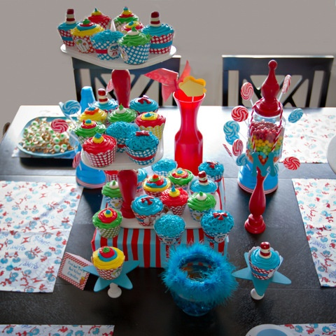 Dr Seuss Baby Cake Toppers