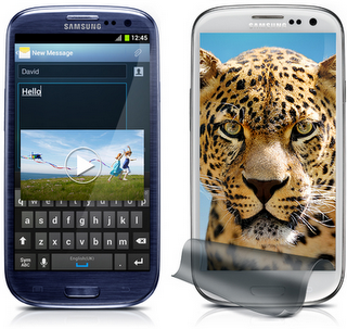 HTC One X, Galaxy S3
