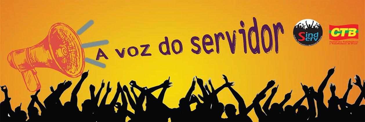 A voz do Servidor