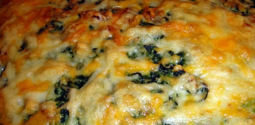 recetas de cocina pastel de espinacas