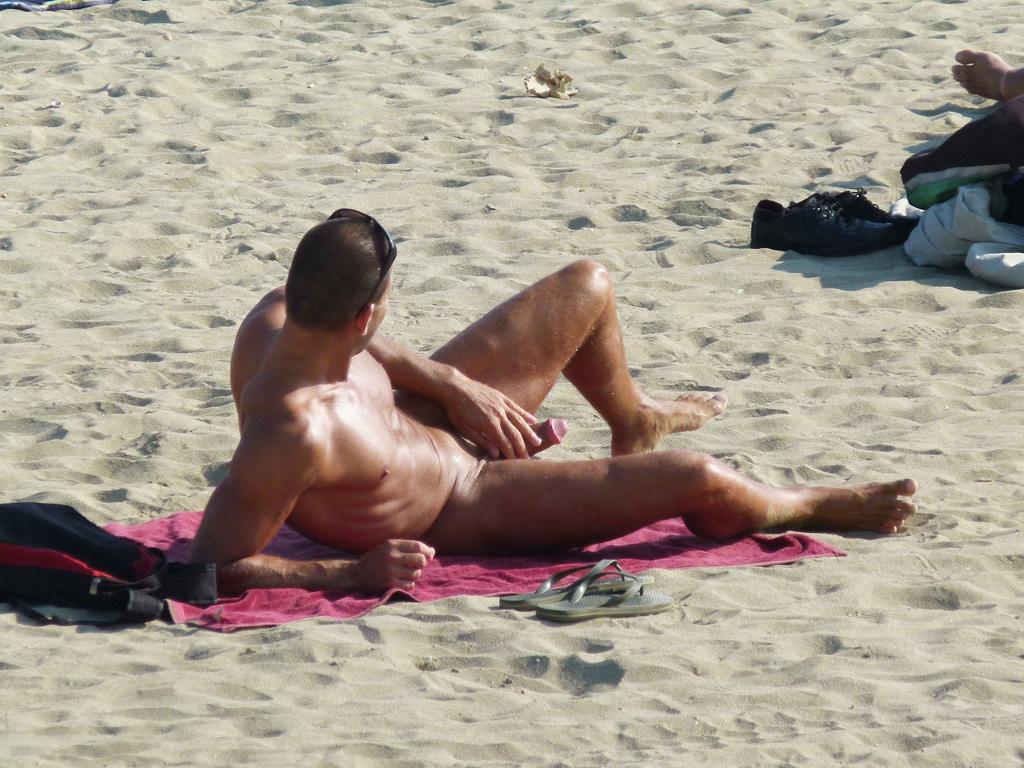 Nude Beach Boner