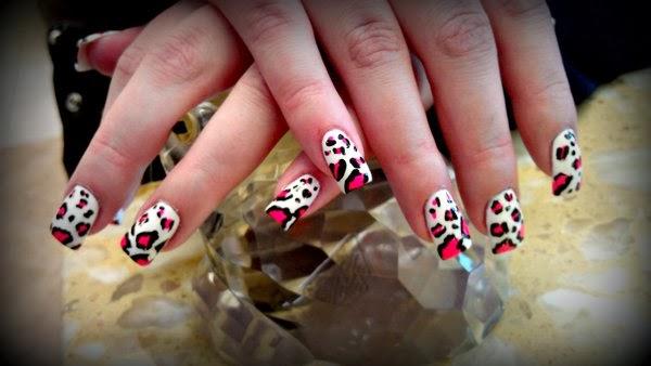 The Enchanting Pink cheetah nail designs Photograph