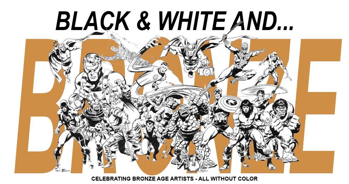 Black & White and Bronze!