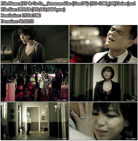 Download MV JYP & Ga-In - Someone Else (GomTV Full HD 1080p)