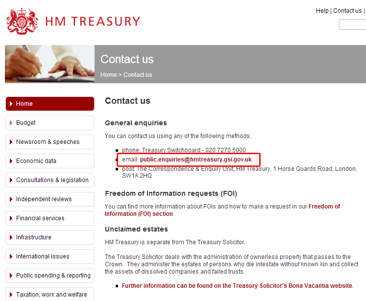Email from HM Treasury? Just another scam - Naked Security