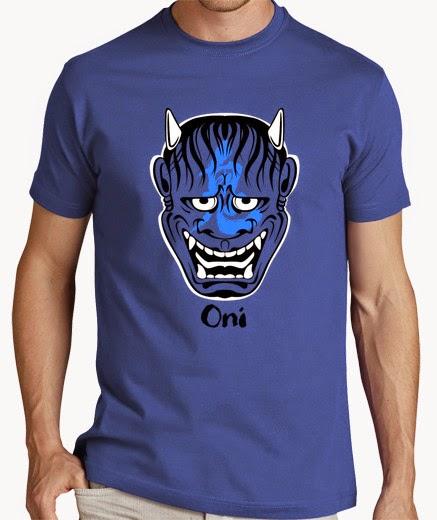 Camiseta comics demonio oriental