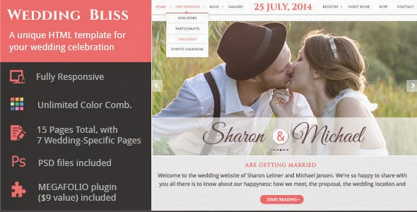Best Responsive Wedding Template