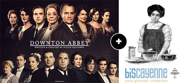 downton abbey + biscayenne