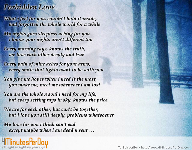 Funny Quotes About Forbidden Love : forbidden_love_quotesforbidden_love_4minutesperday_thought_to_light_up ...