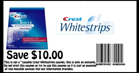 photo regarding Crest White Strips Coupon Printable called crest whitestrips discount coupons printable 2012