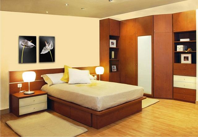 Dormitorios en color durazno for Decoracion de interiores habitaciones matrimoniales