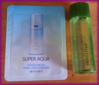 super aqua oxygen micro deep cleanser innisfree green tea