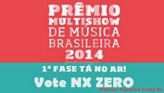 Vote NX ZERO no PMMB 2014
