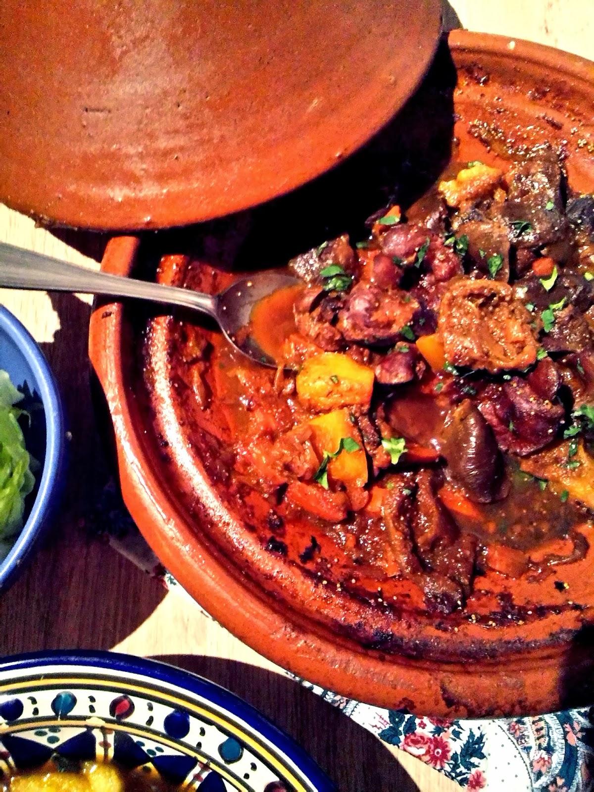 Tajine de g siers de volaille carottes potimarron figues s ch es blogs de cuisine - Comment cuisiner potimarron ...