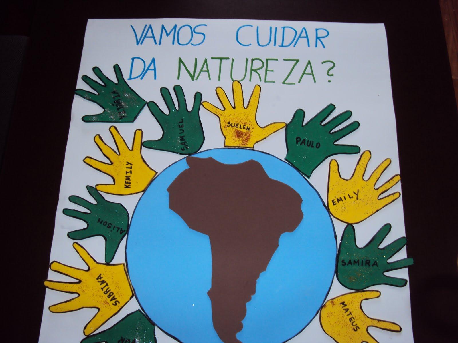 Top DICAS PEDAGÓGICAS: Carimbos de mão - cartaz coletivo PV41
