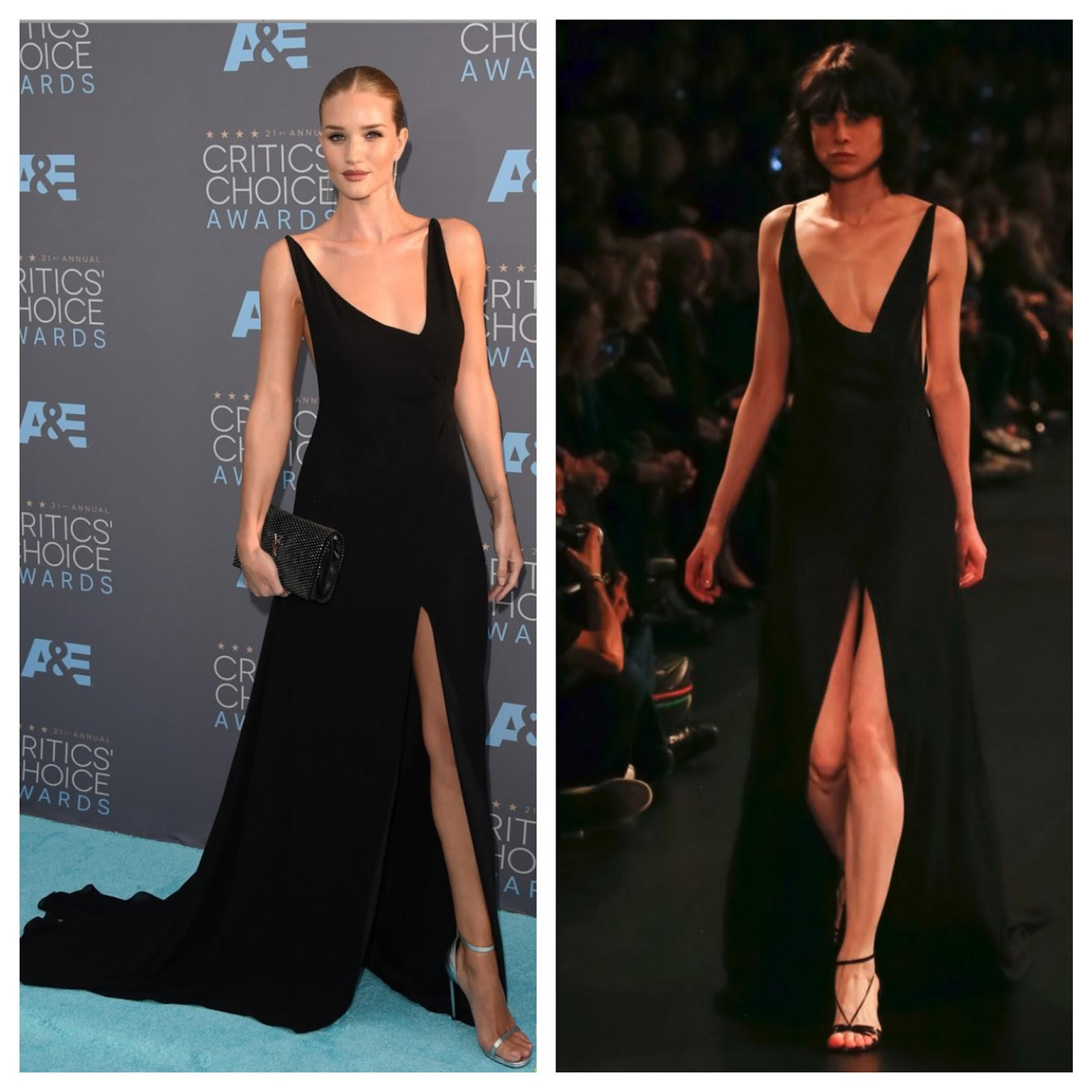 8 Looks Inspired by Rosie Huntington Whiteley\'s Critic Choice Award ...