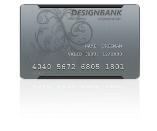 New Credit Card Design Concept