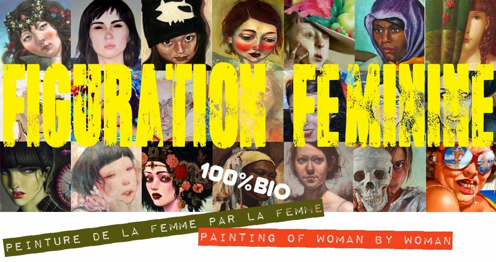figuration feminine, femmes artistes peintres women artists painters