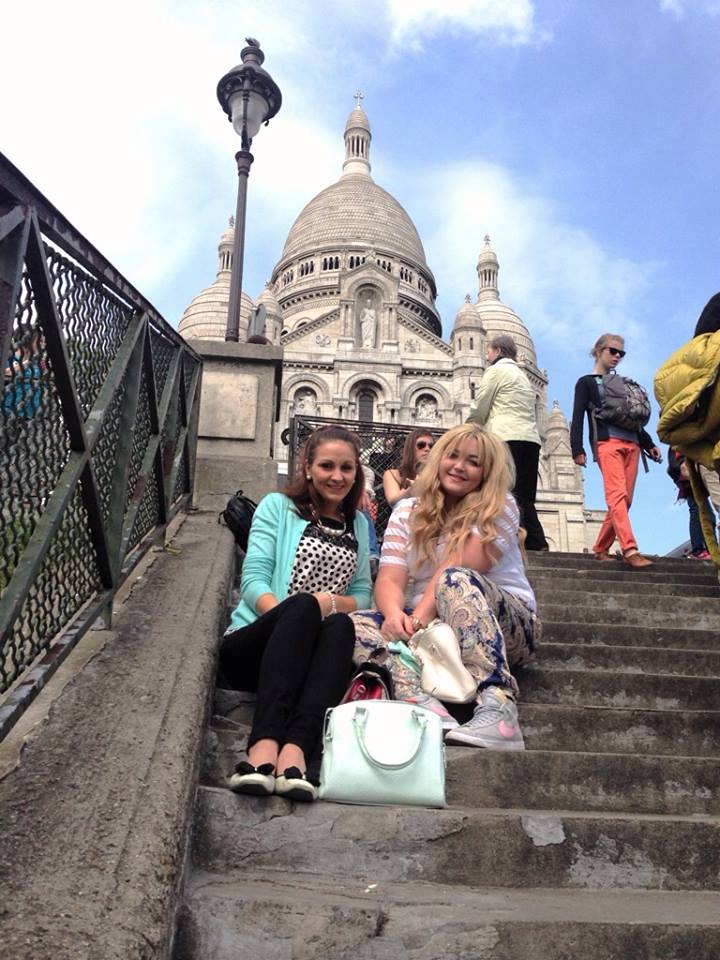 Steps of Sacre Coeur