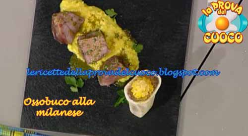Ossobuco alla milanese ricetta andrea ribaldone da la for Cucinare ossobuco