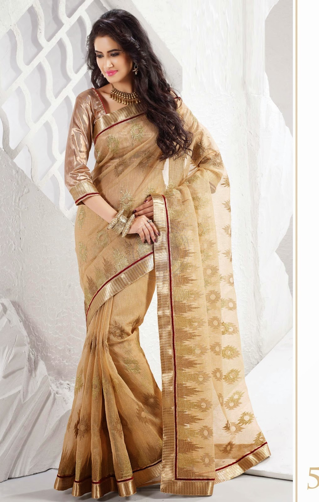 Chennai Silks Fancy Designer Saree collections