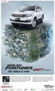Fortuner SUV Terbaik