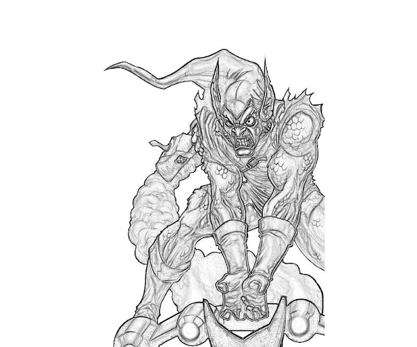 Ultimate Green Goblin Coloring Pages