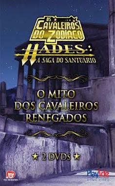 Os Cavaleiros do Zodíaco: O Mito dos Cavaleiros Renegados - DVDRip Dual Áudio