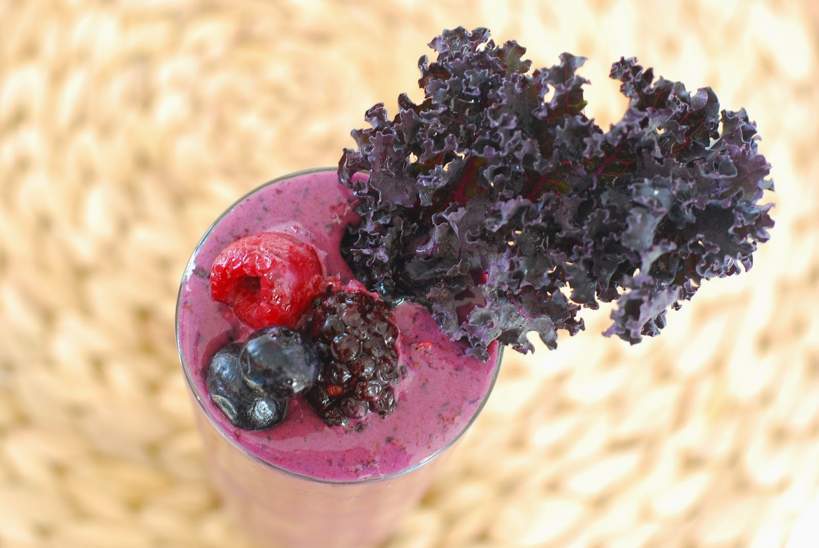 Kaleberry Smoothie | Call Me Fudge
