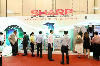 Trung tâm bảo hành tủ lạnh SHARP tại Thái Nguyên