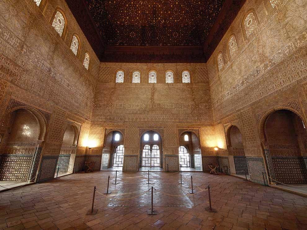 Sombras de tinta el palacio de comares vi el sal n del - Banos arabes palacio de comares ...