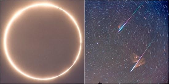 Akhir Pekan Ini, Ada Gerhana Matahari dan Hujan Meteor
